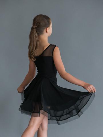 Детская юбочка с сеткой и регилином