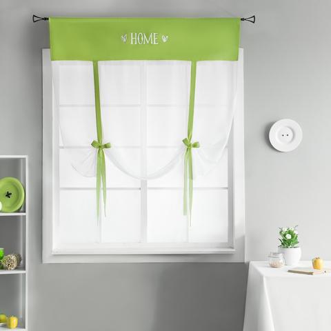 Готовая штора Lolo зеленый