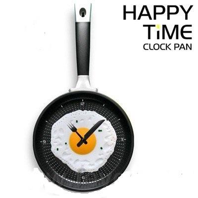 Часы Яичница на сковородке
