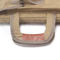 Сумка-рюкзак трансформер для художественных принадлежностей, парусина, светло-коричневый цвет