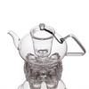 Заварочный чайник 1200 мл с подставкой подогрева