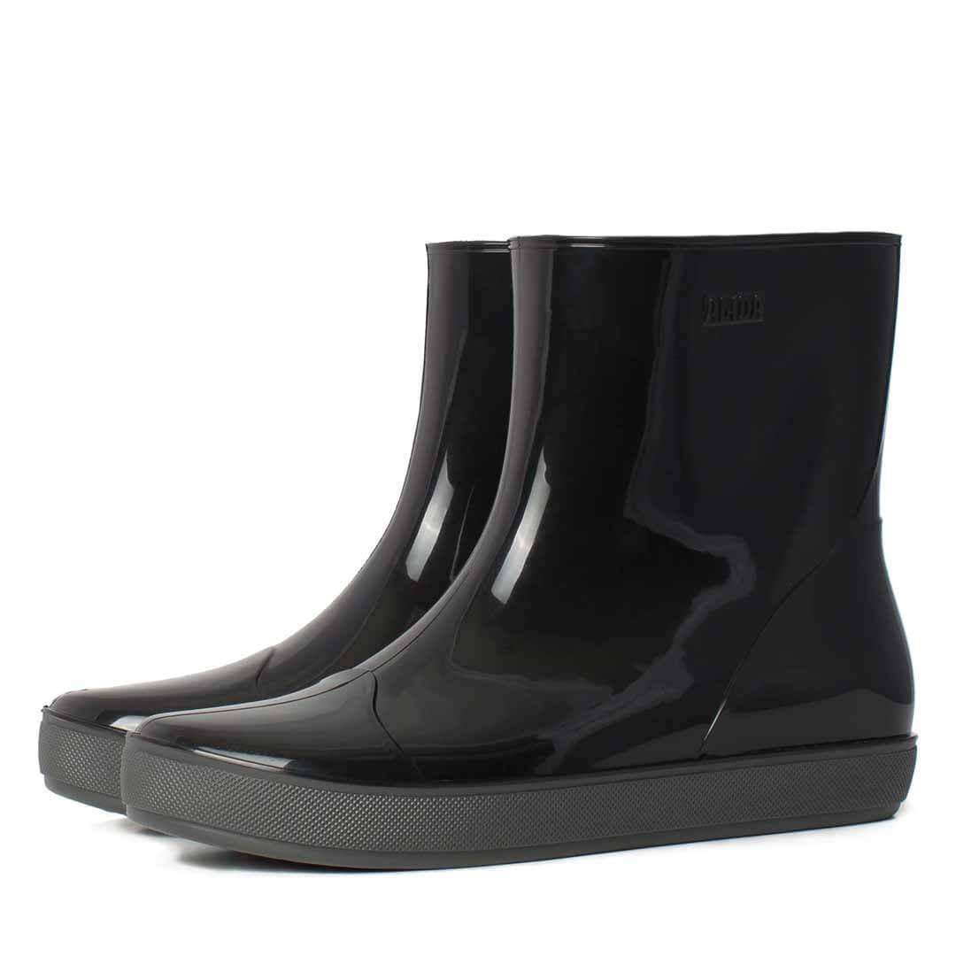 Женская обувь ботильоны резиновые Nordman Alida с утеплителем черные