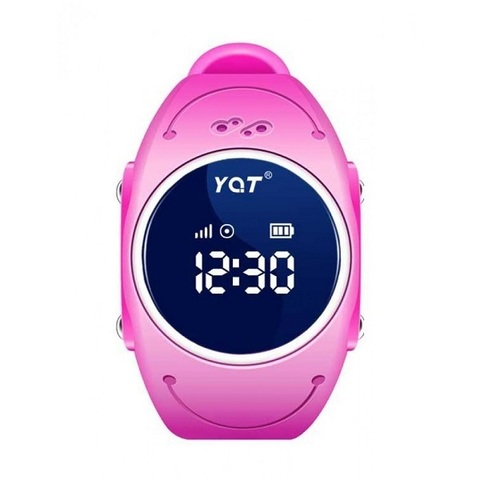 Детские умные GPS часы Smart Baby Watch W8 pink розовые