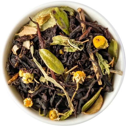 Черный чай с травами и кленовым сиропом