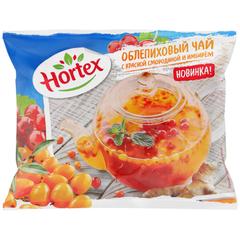 """Смесь ягодная """"Hortex"""" Облепиховый чай с имбирем и красной cмородиной замороженная 250г"""
