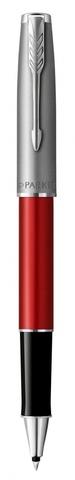 Ручка роллер Parker Sonnet Entry Point T546  Red CT F черные чернила, в подарочной коробке123