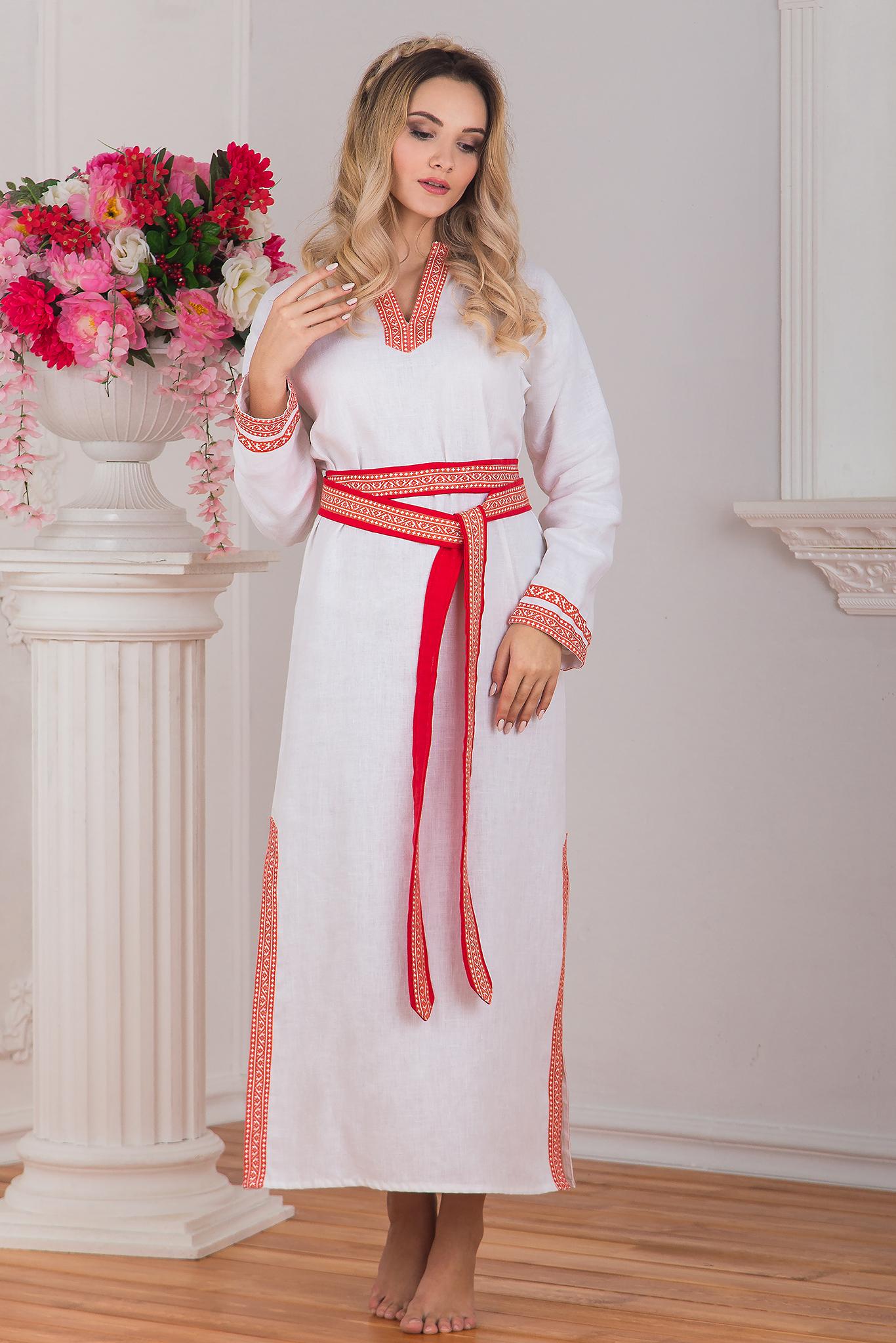 Рубаха женская с ластовицами Верная