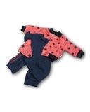 Костюм с курткой бомбером - Синий. Одежда для кукол, пупсов и мягких игрушек.