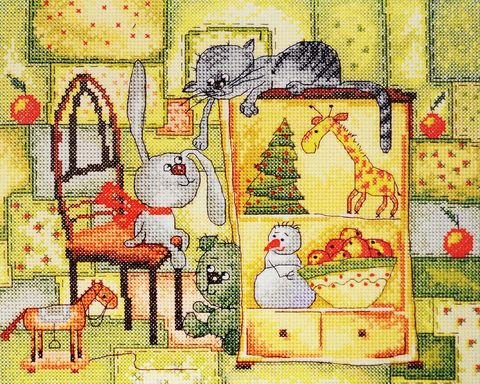 15.001.18 Рождественское одеяло