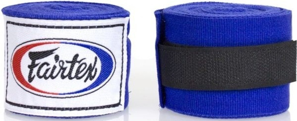 Капы и бинты Бинты Fairtex Handwrap HW2 Blue 4.5м 1.jpg