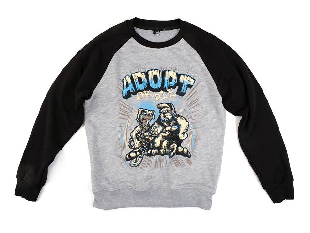 Adopt Or Die / свитшот
