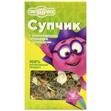 Супчик с макарошками чечевицей и шпинатом СМЕШАРИКИ 180 гр