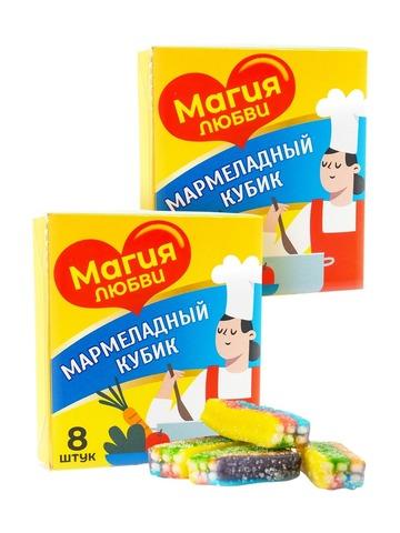 Мармелад жевательный Магия любви (набор из 2-х штук)