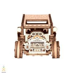 Хот-Род от Wooden City - деревянный конструкторы, 3D пазл, сборная модель