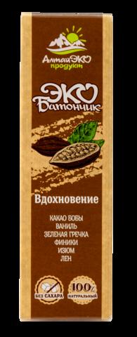 """Мини-батончик фруктово-ореховый """"Вдохновение"""" без сахара, 25 г"""