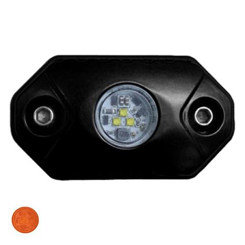 Светодиодная фара  рабочего янтарного света Аврора  врезная ALO-Y-2-A ALO-Y-2-A  фото-1