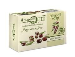 Мыло натуральное оливковое без отдушек Aphrodite 100 гр