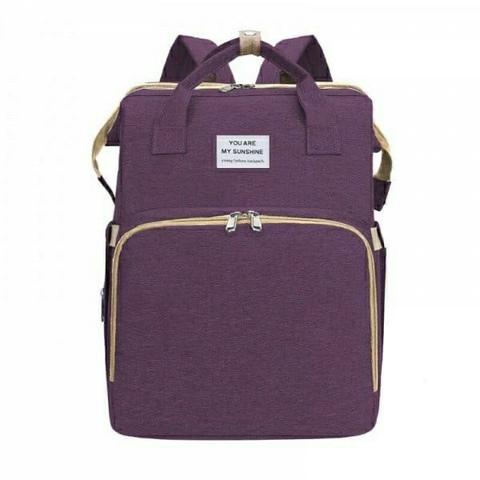 Сумка рюкзак кровать раскладная для ухода за ребенком