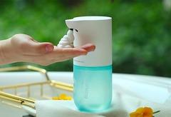 Дозатор сенсорный для жидкого мыла Xiaomi Simpleway Automatic Induction Washing machine Blue
