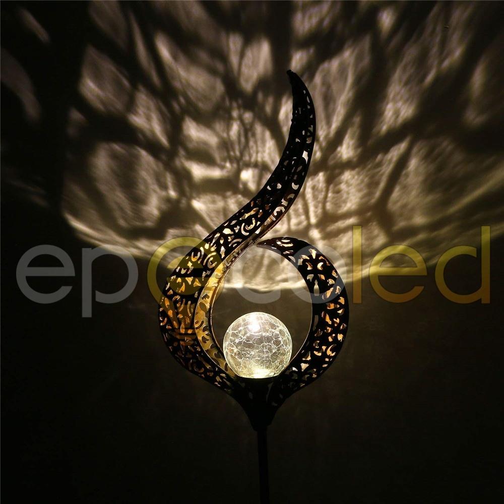 Винтажный светильник  EPECOLED восточная свеча (на солнечной батарее)