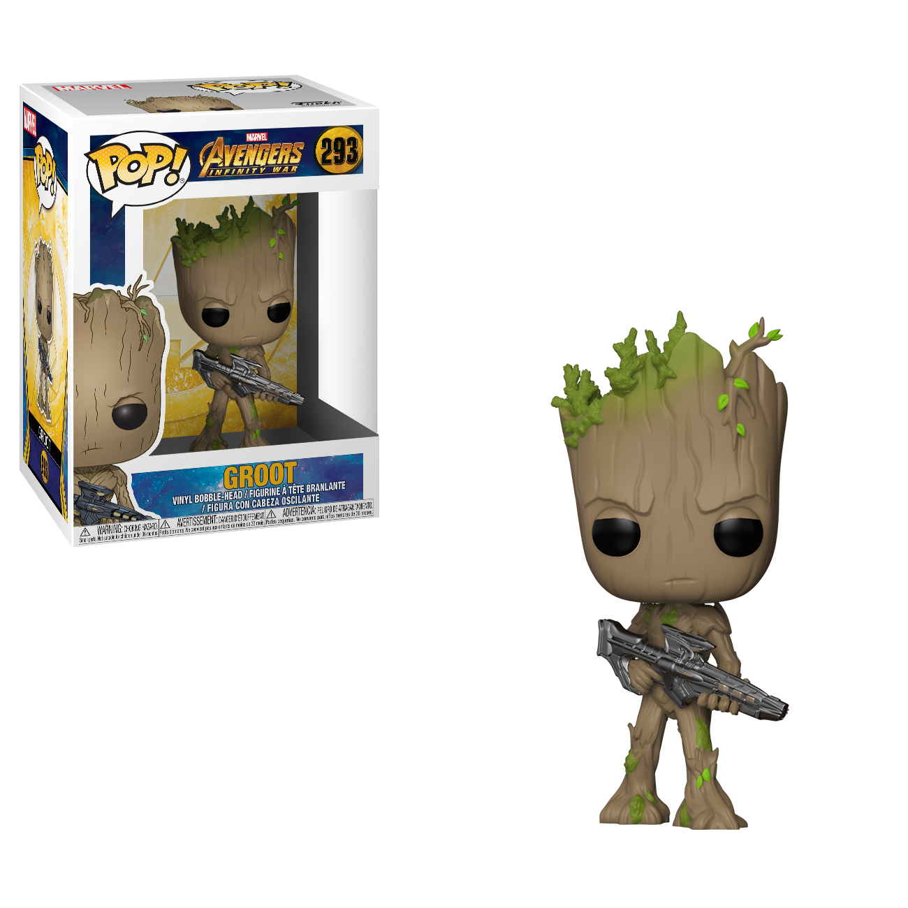 Фигурка Funko POP! Bobble: Marvel: Avengers Infinity War: Groot 26904
