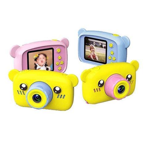 Цифровой детский фотоаппарат Мишка Children's fun Camera