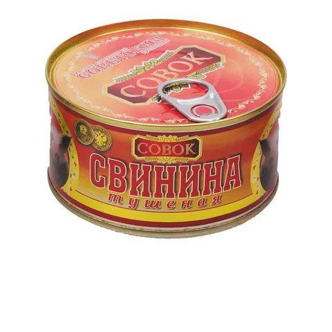 Свинина тушеная Совок МИНИМАРКЕТ 0,325кг