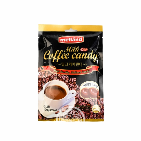 Карамель Melland Milk Coffee со вкусом кофе с молоком 100г Корея