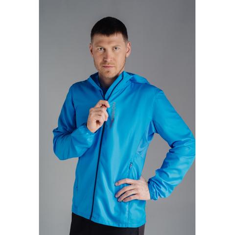 Ветровка для бега Nordski Run Light Blue мужская