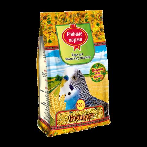 Родные корма Стандарт Сухой корм для волнистых попугаев