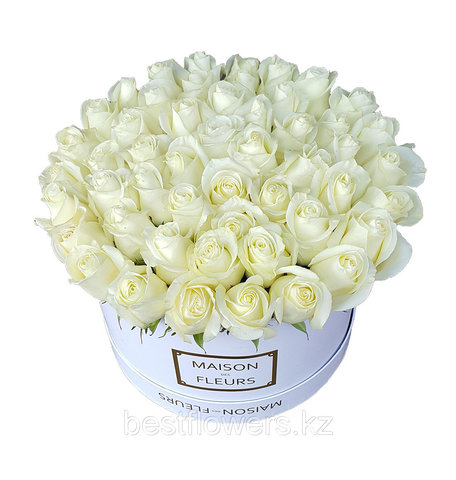 Коробка Maison Des Fleurs Белая Белая