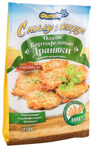 """Смесь мучная Оладьи """"Картофельные драники"""" Фитодар, 250г"""