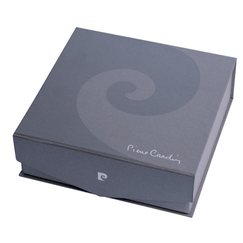 Набор подарочный Pierre Cardin Libra - Black, перьевая ручка + флакон чернил