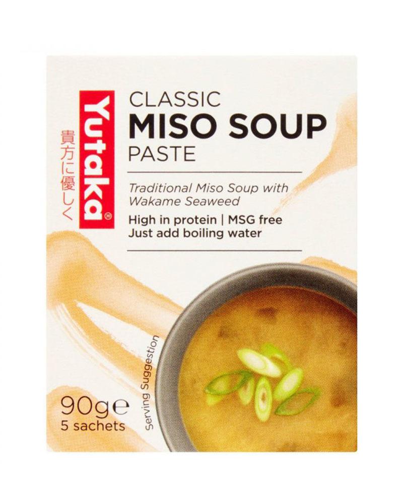 Мисо-суп Yutaka (быстрого приготовления) 90 гр.