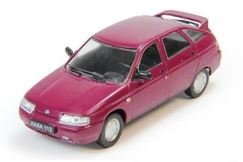 VAZ-2112 Lada 1:43 DeAgostini Auto Legends USSR #183