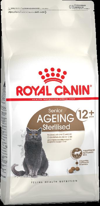 Сухой корм Корм для стерилизованных котов и кошек, Royal Canin Ageing Sterilised 12+, старше 12 лет 16_ageing_sterilised_12_b1_ru_packaging_packshots_000006_2.png