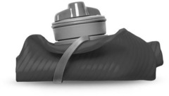 Мягкая фляга для воды Hydrapak Flux 1L Голубая - 2