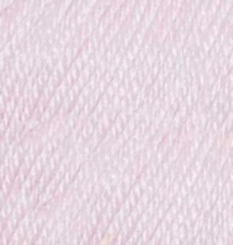 Пряжа Baby wool Alize 275 Сиреневая пудра