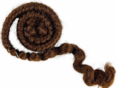 MEHRON Креповые волосы Crepe Hair, Medium Brown (Коричневые)