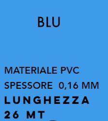 Лента PVC BLEU для обвязки Alvaro Bernardoni 26 метров