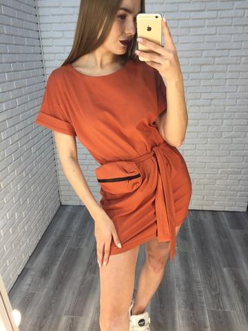 Платье-туника трикотажное Nadya