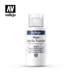 MAT VARNISH 518-60ML. BOTTLE