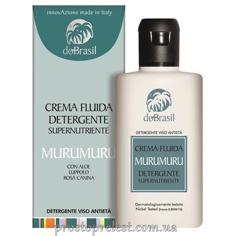 Dobrasil crema fluida detergente supernutriente murumuru - Суперпитательный очищающий крем-флюид с маслом мурумуру