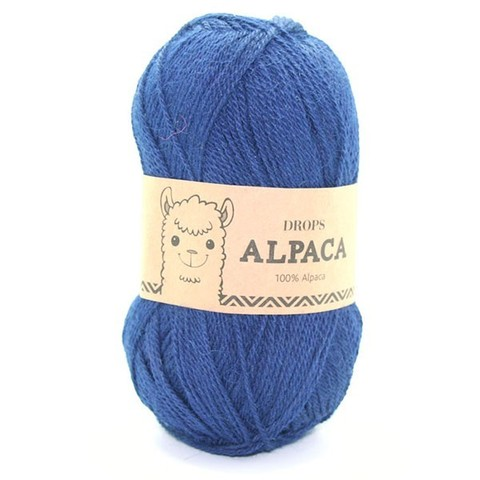 Пряжа Drops Alpaca 5575 темно-синий