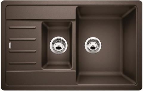 Кухонная мойка Blanco LEGRA 6S Compact, кофе