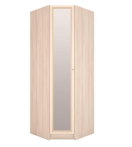 Шкаф угловой Брайтон 30 с зеркалом Ижмебель ясень асахи