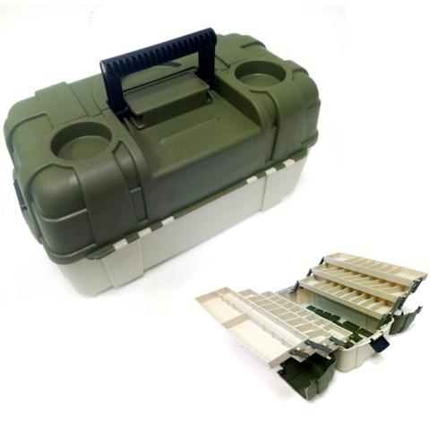Ящик рыболовный пластиковый Salmo 6-ти полочный