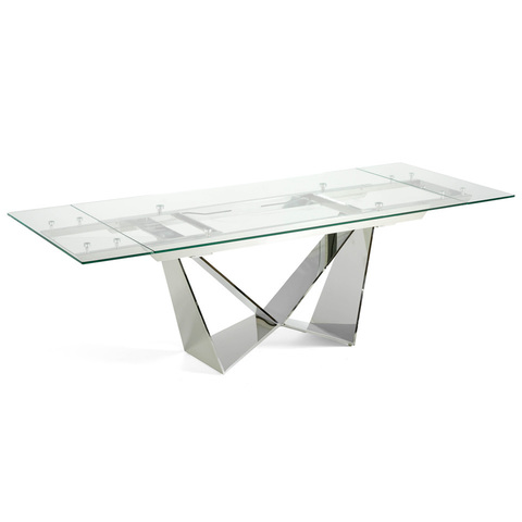 Прямоугольный стеклянный стол CT2302
