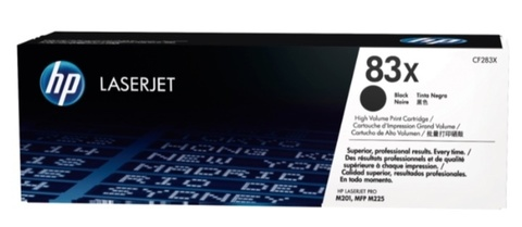 Оригинальный лазерный картридж HP CF283X 83X черный