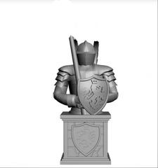 Силиконовый молд № 2 ( серия набор Шахматы Рыцари  ) по штучно